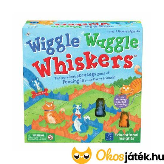 """Tekergő kerítések - """"vonalkázós"""", vagy """"kockázós"""" Wiggle Waggle logikai játék (LR) """"Utolsó darabok"""""""