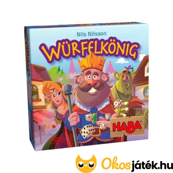 "Würfelkönig - A kockák királya Haba (HA) ""utolsó darabok"""