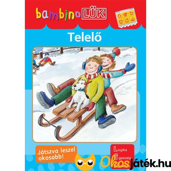 Telelő LÜK Bambino  füzet óvodásoknak (LDI-136) (DI)