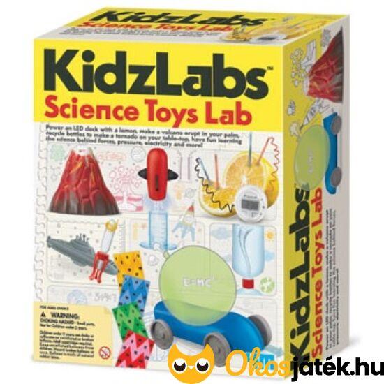 """4M Kísérletező készlet gyerekeknek - Kidzlabz Science 1007 (RE) """"Utolsó darabok"""""""