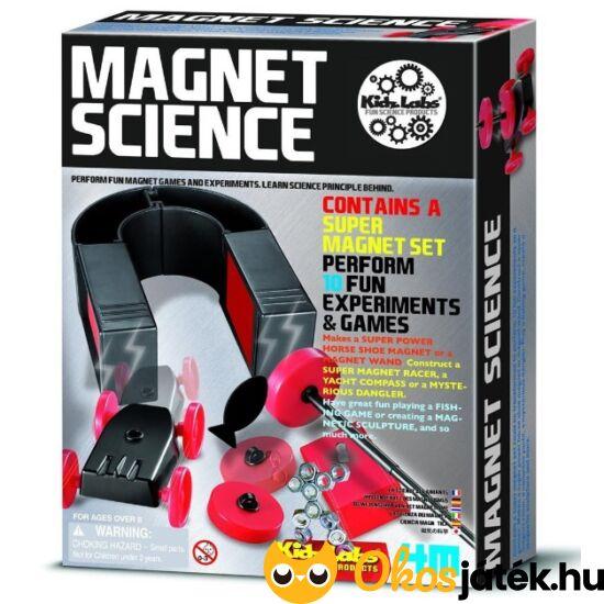 4M Mágneses tudományos játék készlet - Magnet Science - RE 93768