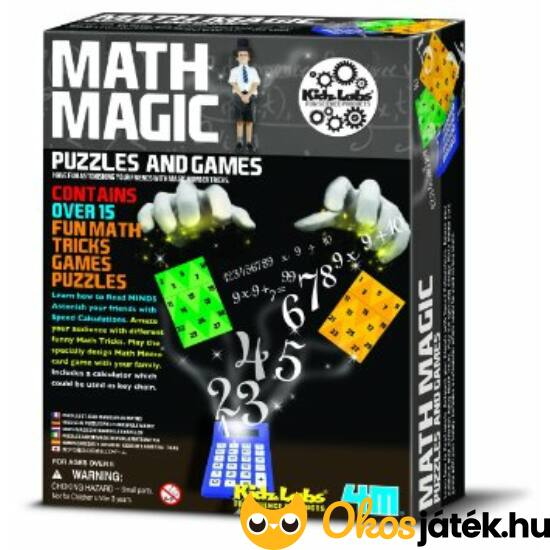 Matek mágus - varázslatos matematika, bűvészkedős játék - 4M Math Magic 03994 - RE