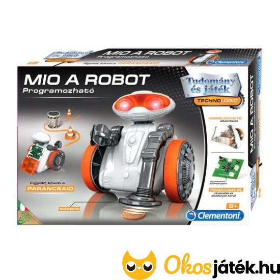 Clementoni Mio a programozható robot 64987 (MH)