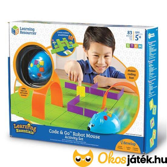 Programozható, mozgó egér játék robot - Code and Go Learning Resources 2831 (LR)