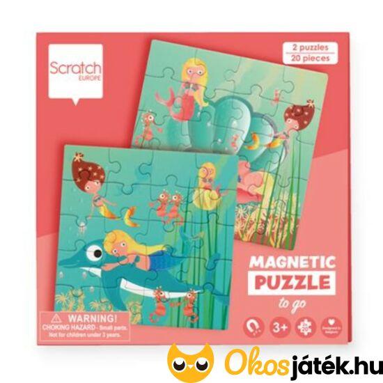 mágneses puzzle