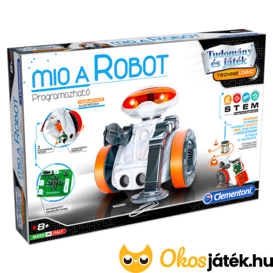 Clementoni Mio a programozható robot 2.0 - MH 64315