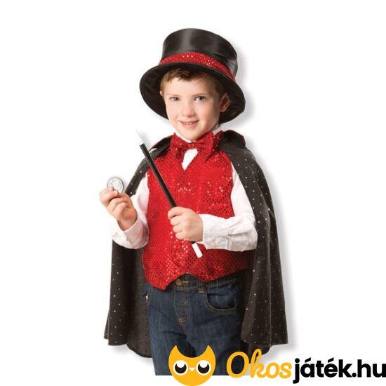 Varázsló, bűvész jelmez 3-6 éves gyerekeknek - Melissa Doug 18508 (ME-T)
