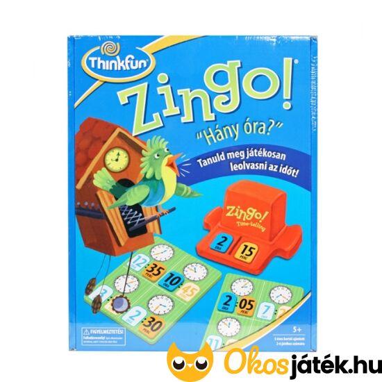 """Zingo Hány óra? társasjáték ThinkFun (GE) """"Utolsó darabok"""""""