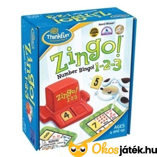 Zingo 1-2-3 számolós játék (440) (GE)
