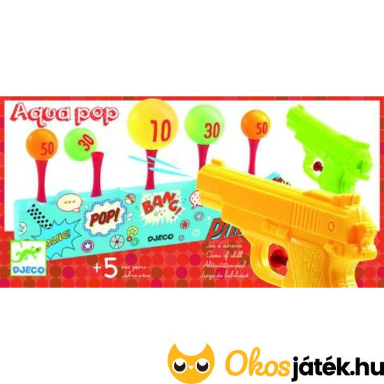 Aqua Pop - vizes célbalövős játék DJ 02048 (BO)