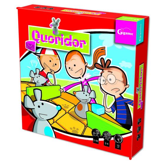 Quoridor Kid Gigamic logikai társasjáték gyerekeknek (593) (GE)