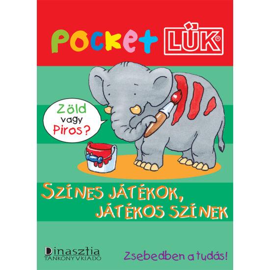Színes játékok Pocket LÜK füzet + Alaplap LDI902/A (DI)