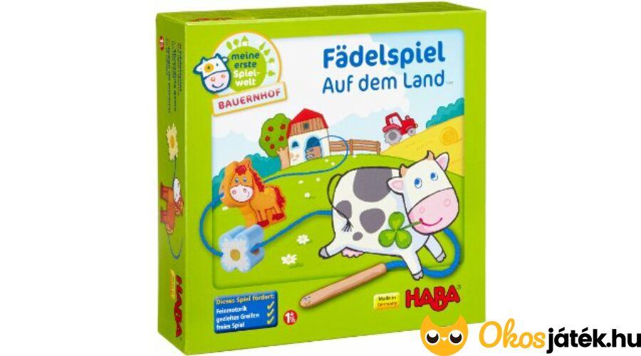 Haba fűzőjáték kicsiknek (Farm) - Fädelspiel (HA) 8e27d2035b